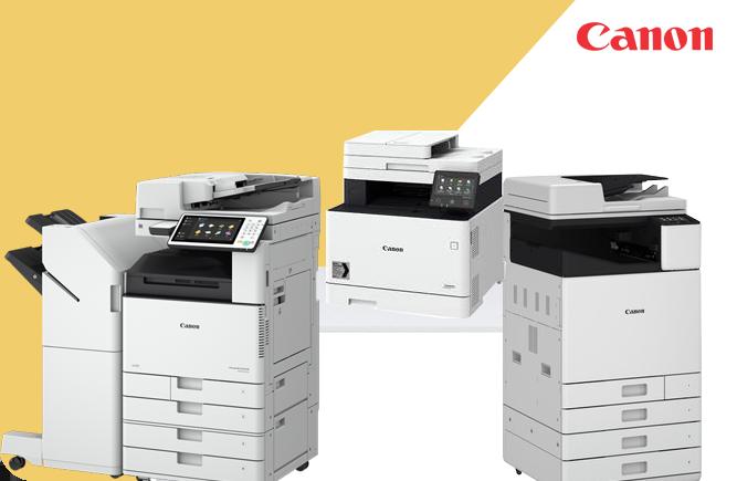 Urządzenia wielofunkcyjne i drukarki atramentowe Canon