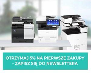 Newslettter o drukarkach poleasingowych